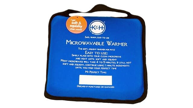 K&H Pet Products Microwavable Pet Bed Warmer