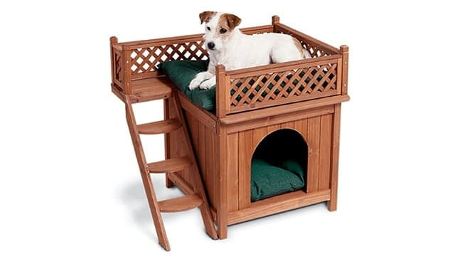 Cheerful Products Wood Modern Dog Indoor Home