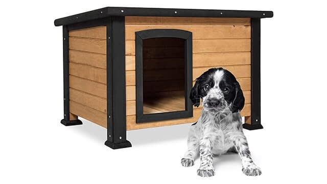 Wooden dog house for sale
