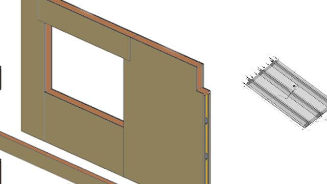 Notching the box panels