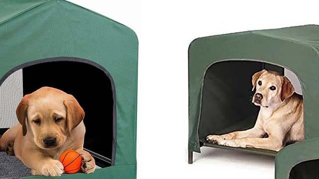 Kleeger Premium Canopy Pet House Retreat