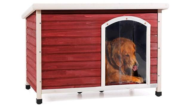 Wooden dog house kit