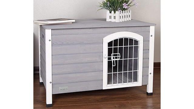 Petsfit Wooden Indoor Dog House
