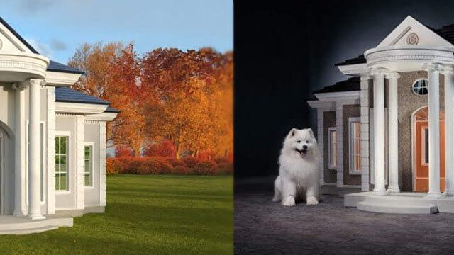 Granddog colonial villa