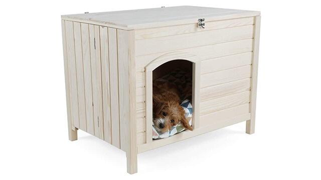 Wooden dog house diy