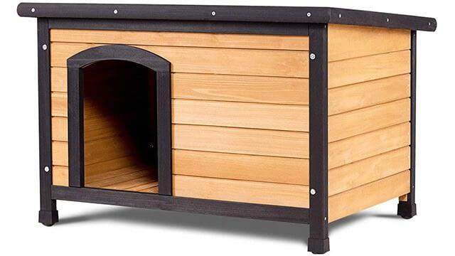 Large Log Cabin Pet Shelter