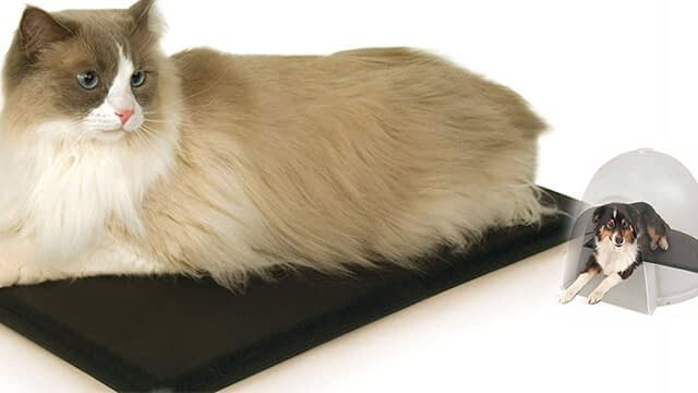 K & H manufacturing a small animal outdoor heated pad