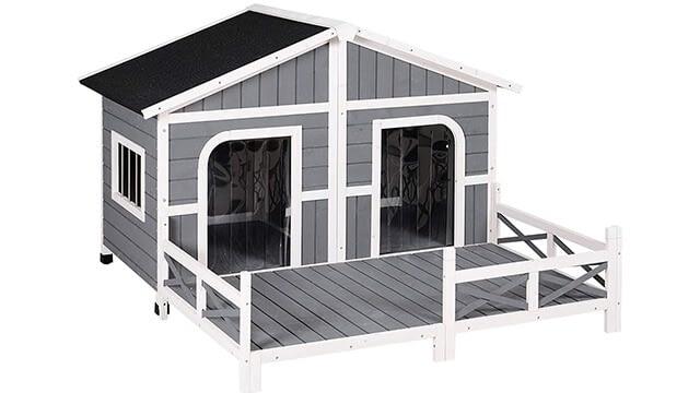 Wooden dog house cheap